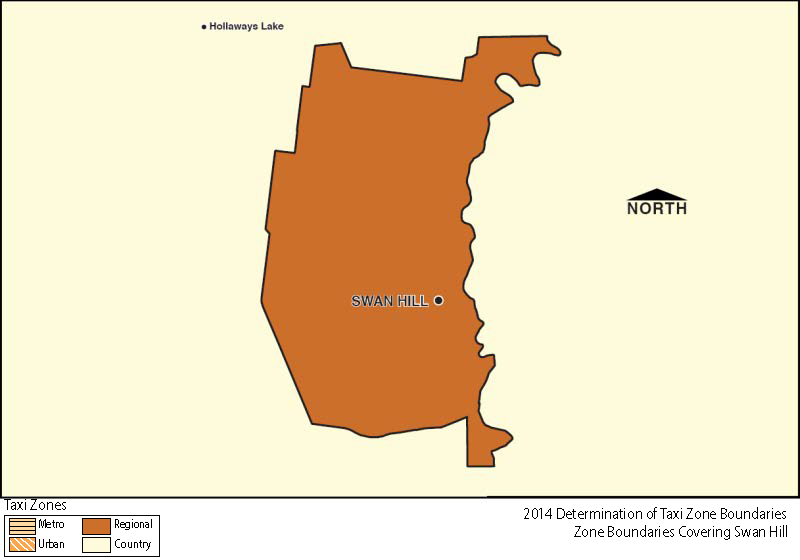 Regional Zone Map - Swan Hill